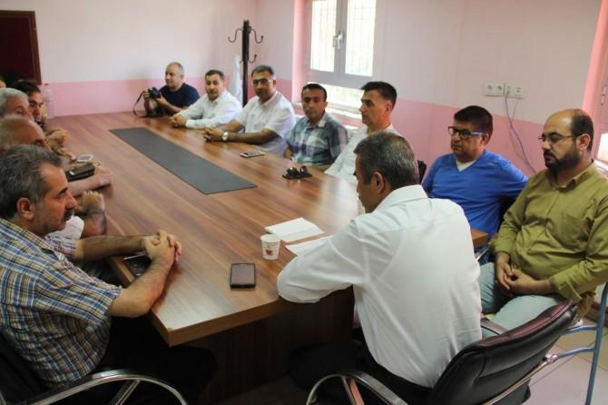 Mardin Kızıltepe'de meslek liselerinin tanıtım toplantısı yapıldı
