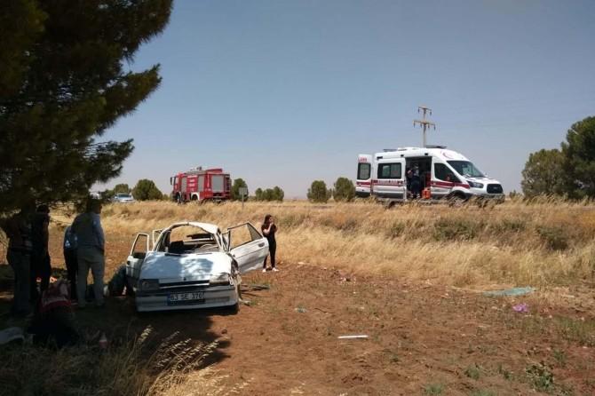 Şanlıurfa'da trafik kazaları: 2'si ağır 6 yaralı