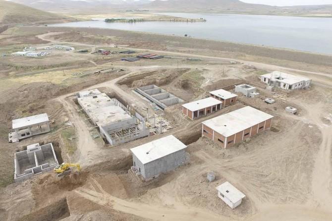 DSİ 8'inci Bölge Müdürü Köleoğlu Patnos'ta incelemelerde bulundu