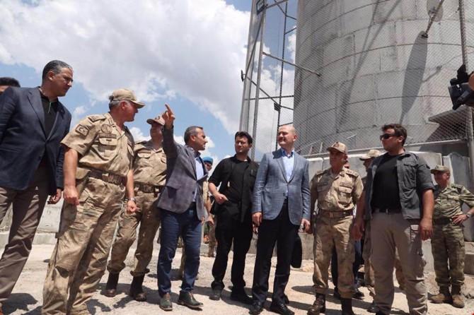 İçişleri Bakanı Soylu Tunceli Pülümür'de incelemelerde bulundu