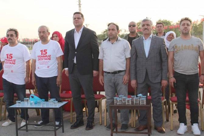 Van'da 15 Temmuz etkinliği gerçekleştirildi