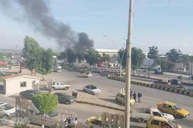 Gazze'de patlama: 2 ölü 1 yaralı