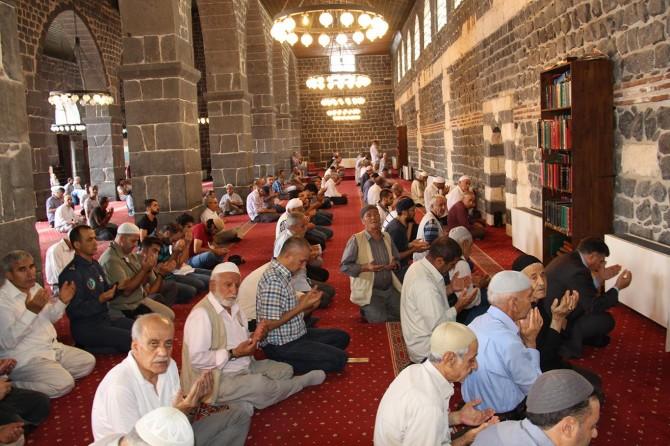 Diyarbakır'da şehitler için mevlit okundu