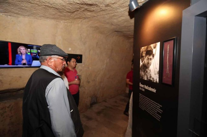 Gaziantep'teki Milli Mücadele Müzesi Hasan Hüseyin Halisdemir'i duygulandırdı