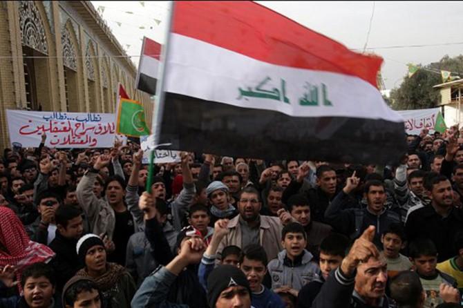 Irak'ta protesto gösterileri: Ölü ve yaralılar var