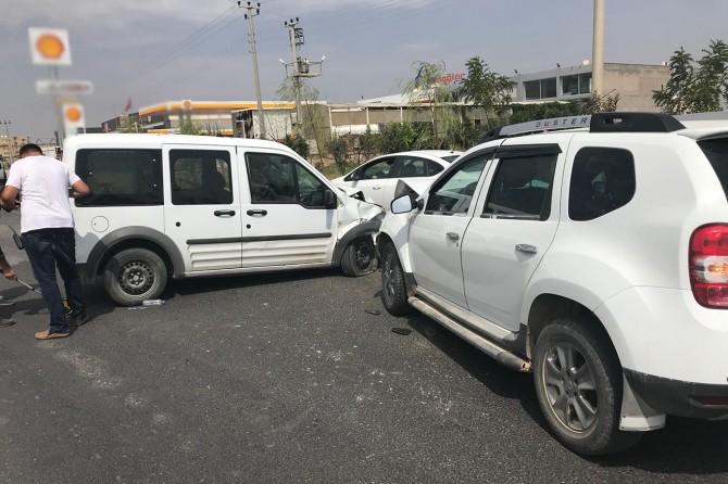 Kızıltepe-Mardin Karayolunda kaza: 2'si çocuk 5 yaralı