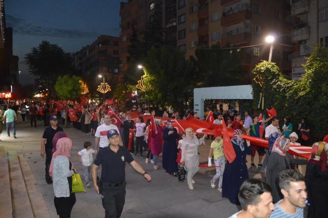 Siirt'te Milli Birlik Yürüyüşü yapıldı