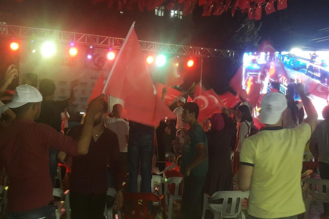 Kızıltepe'de cezaevi firarisi 15 Temmuz etkinliğinde yakalandı