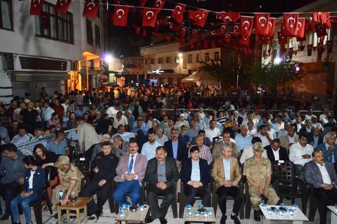 Bitlis'te 15 Temmuz Destanı programı düzenlendi