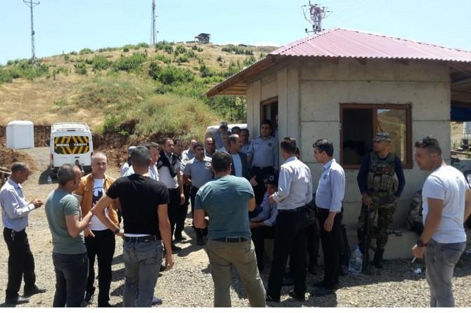Bingöl HES'te 35 güvenlik görevlisi işten atıldı