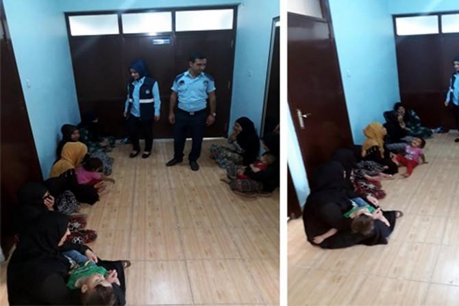 Şanlıurfa Viranşehir'de sokakta dilencilik yapan 10 kişi yakalandı
