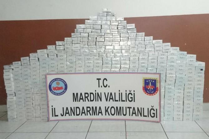 Mardin'de kaçak sigara operasyonu: 4 gözaltı