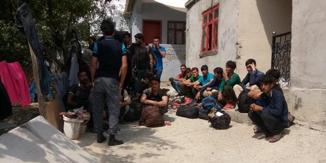 Van İpekyolu'nda 119 yabancı uyruklu kaçak yakalandı