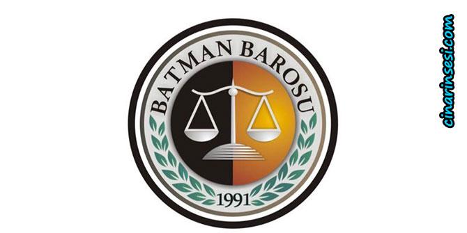 Batman Barosundan mıcırlı yola ilişkin suç duyurusu