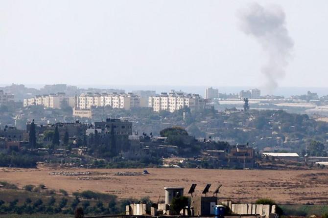 Siyonistlerin hava saldırısında 2 Filistinli yaralandı