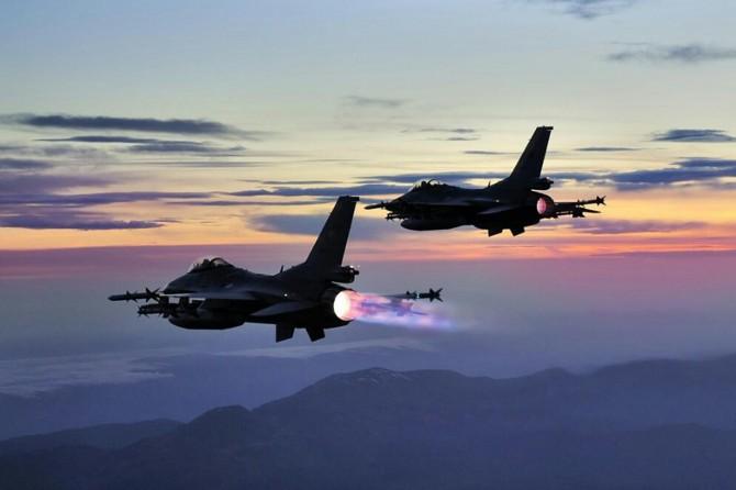 TSK'dan hava harekatı: 6 PKK'li öldürüldü