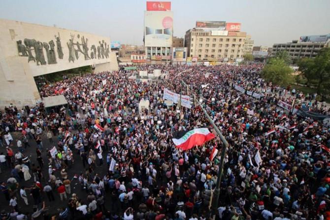 Li Iraqê xwepêşan berdewam dikin: 5 mirî 190 birîndar