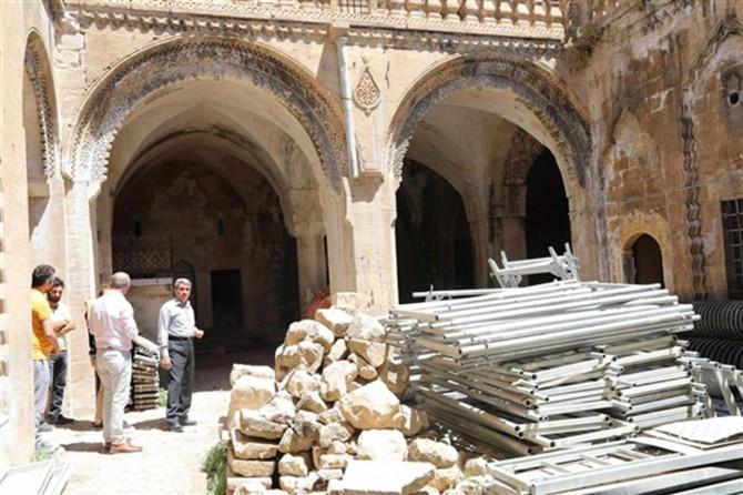 Mardin'deki Gazipaşa İlkokulu restorasyona alındı