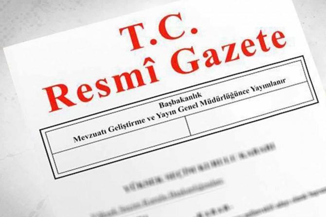 TBMM kararı Resmi Gazete'de yayımlandı