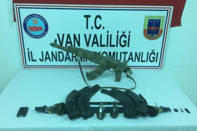 PKK'ye ait silah ve mühimmat ele geçirildi