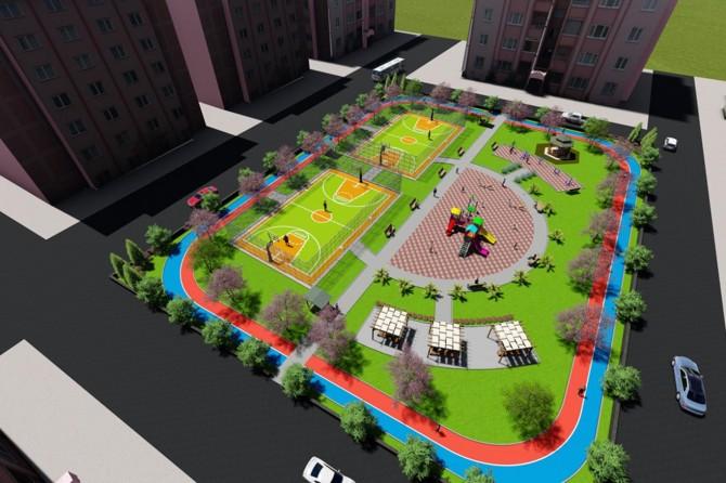 Mardin Kızıltepe'de çok amaçlı park yapılacak