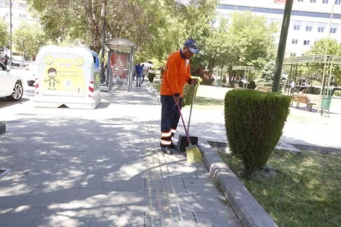 Gaziantep'te temizlik görevlisinden örnek davranış