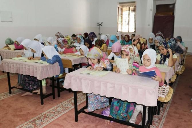Gaziantep'te yaz Kur'an kursları büyük ilgi görüyor