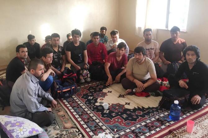 Van'da 309 kaçak göçmen yakalandı