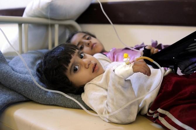 Yemen'de kolera salgını can almaya devam ediyor