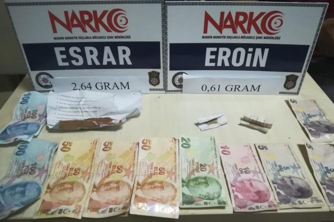 Mardin'de hırsızlık ve uyuşturucu operasyonları