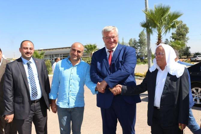 Ukrayna'nın Ankara Büyükelçisi Andrii Sybiha Mardin'de