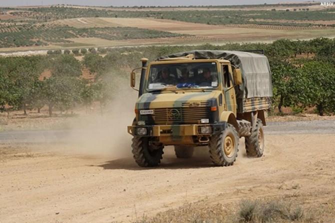 Gaziantep sınırında özel güvenlik bölgesi uygulaması