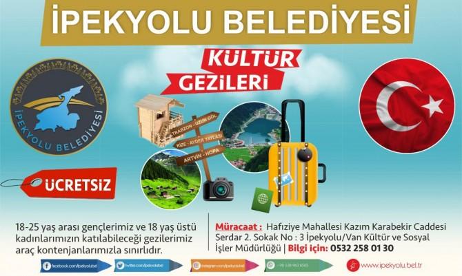 Van İpekyolu Belediyesinden Karadeniz gezisi