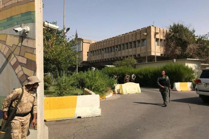 Erbil Valiliğine silahlı saldırı