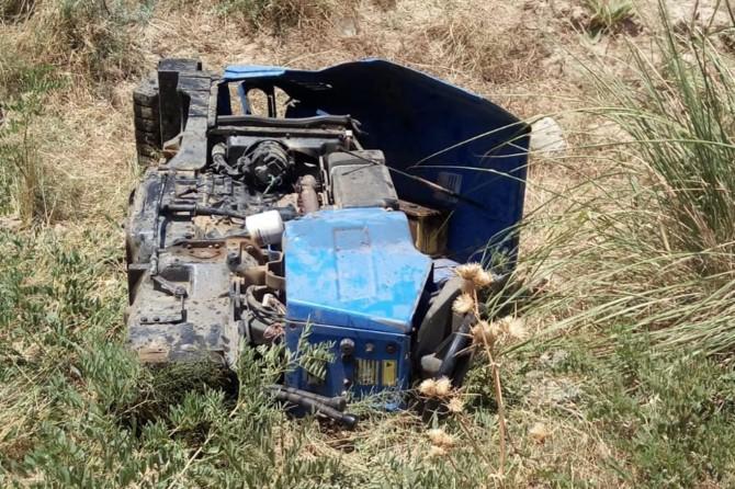 Batman Kozluk'ta traktör kazası: 2 yaralı