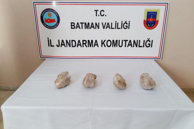 Batman'da eroin operasyonu: 2 kişi tutuklandı