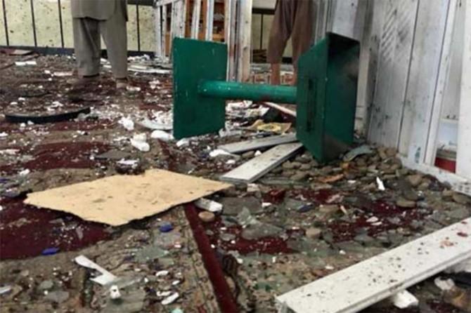 Afganistan'da camiye saldırı: 15 kişi hayatını kaybetti