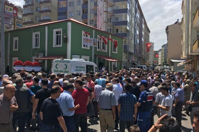 Siirt-Kurtalan Karayolundaki kazada 1 asker hayatını kaybetti
