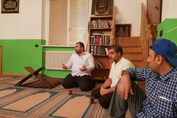 Avrupa Yetim-Der, Gülcan Abaylı'nın ailesini ziyaret etti