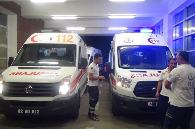 Kahramanmaraş-Gölbaşı karayolunda trafik kazası: 8 yaralı