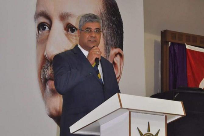 AK Parti Kızıltepe ilçe başkanı değişti