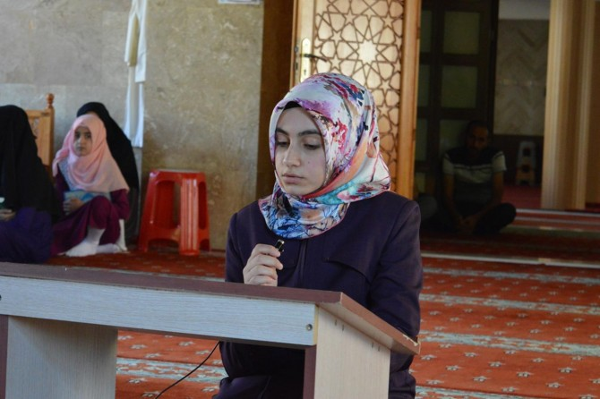 Bitlis'te Kur'an-ı Kerim yarışmasının finali düzenlendi