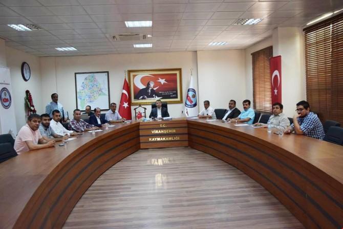Viranşehir SYDV ağustos ayı mütevelli heyeti toplantısı yapıldı