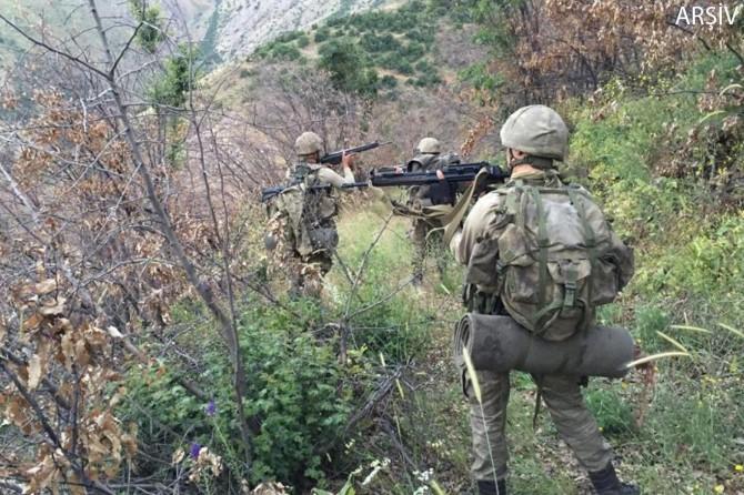 Diyarbakır Kocaköy'de gri listede aranan PKK'li öldürüldü