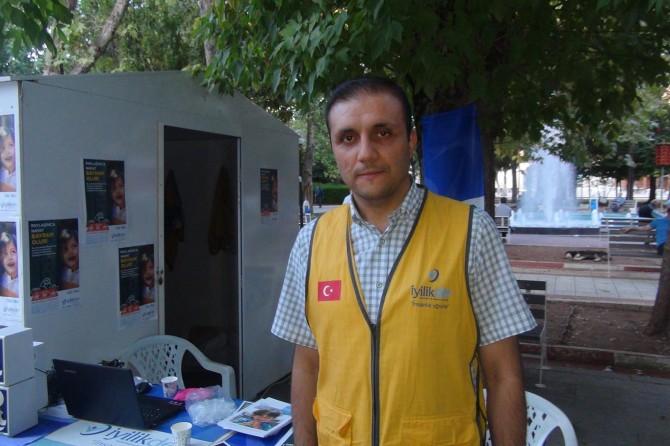 Adıyaman'da ihtiyaç sahipleri için kurban standı açıldı
