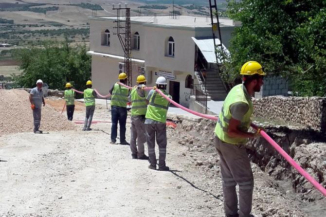 Diyarbakır Kocaköy'de iletim hatları yeraltına alınacak