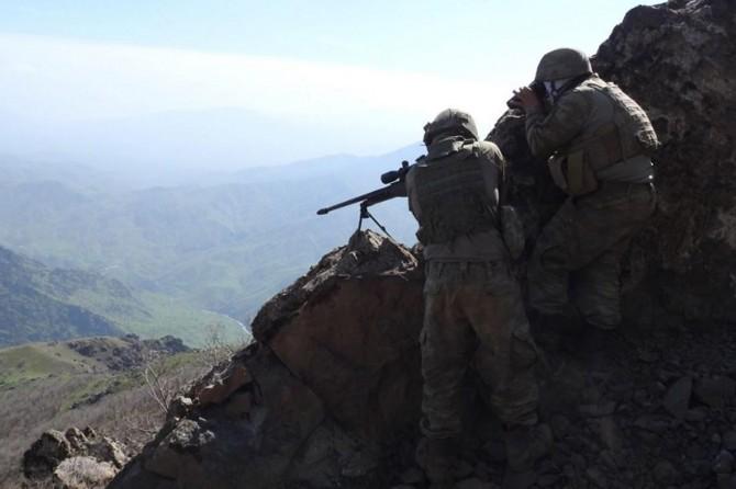 Kırmızı listede aranan PKK'li Tunceli'de öldürüldü