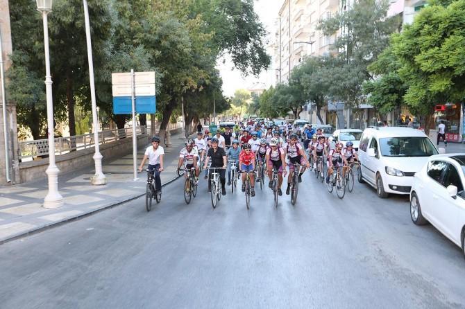 Gaziantep'te bisiklet turu düzenlendi