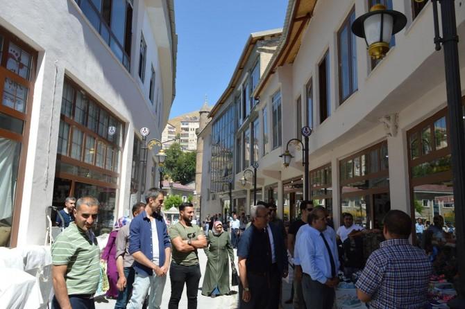Bitlis'te Kadim Kent Tarihi Kimliğine Kavuşuyor projesi devam ediyor
