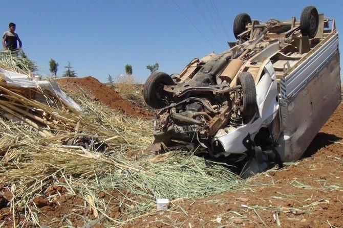 Çınar'da trafik kazası: 2 yaralı